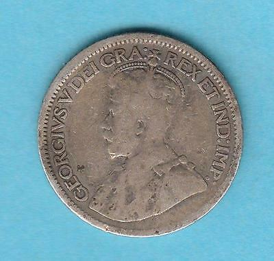 1913 Canada 10 cent silver w/ King George V