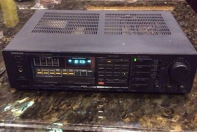 Onkyo Quartz Synthesized Tuner Amplifier TX-37