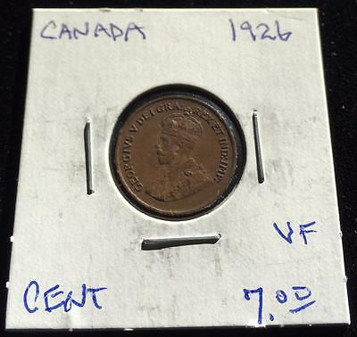 Canada 1926 1 cent VF (RC1516)