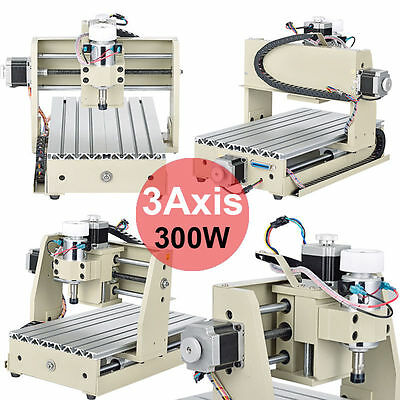 3 AXIS CNC3020T Desktop ENGRAVER ROUTER Carving DRILLING MILLING MACHINE MACH3
