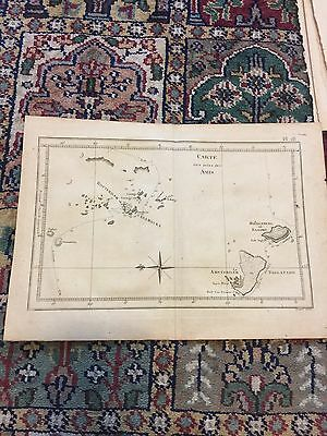 1778 Map Of The Friendly Islands Or Kingdom Of Tonga In Pacific By Bernard Direx
