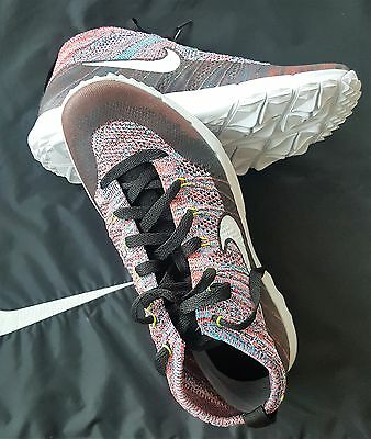 BRAND NEW Men's size Flyknit Chukka Spikeless Golf Shoes 819009-002 multi color