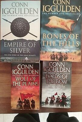 Epic story of the Kahn dynasty 4 books by Conn Iggulden