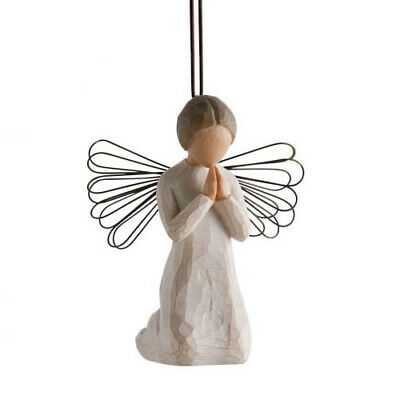 Willow Tree Hanging Ornament  - Angel of Prayer 26044 By Susan Lordi