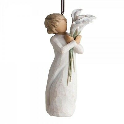 BEAUTIFUL WISHES Willow Tree Christmas tree ornament 27470 New