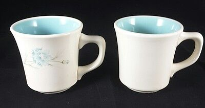 """Taylor Smith Taylor Boutonniere (2) Two 3 1/2"""" Mugs"""