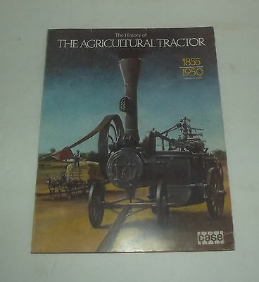 Very Neat 152 Page Book On The History Of The Agricultural Tractor By Case