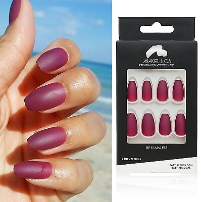 Legendary by Makellos; Matte nails Press-On Nails