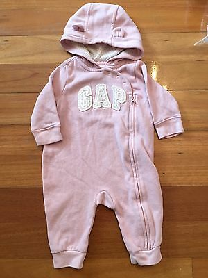 Baby Gap Girl Winter Jumpsuit Hoodie Clothes 0-3 Months