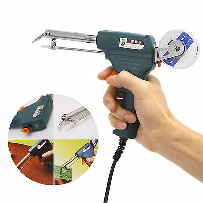 220V 60W Auto Welding Soldering Iron Electric Temperature Gun Solder Tool Kit