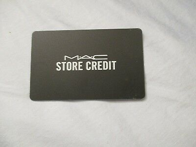 $73 MAC Gift Card use in store or online never expires