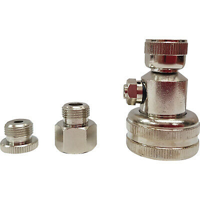 Industrial Grade Tractor Tyre Water Adaptor - Push Button Bleed - Made in USA