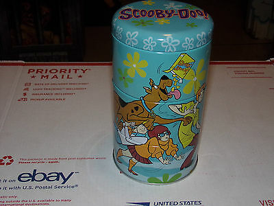 SCOOBY DOO Snacks Tin ~ 2000 Hanna-Barbera Dog Treats Very Rare Hard-To-Find b43