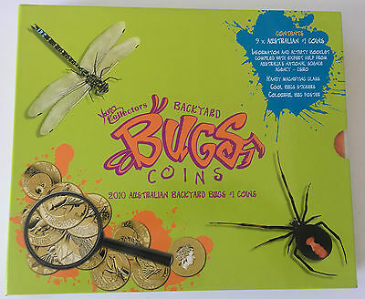 Young Collectors Backyard Bugs Coins 2010 - Complete Coin Collection - NEW