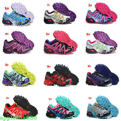 2017 Outdoor Womens Salomon Fashion Sports Sneakers Running Shoes Hiking Shoes