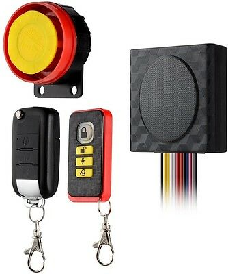 BlueFire 12V Universal Motorcycle Alarm System Anti-theft Security Remote Start