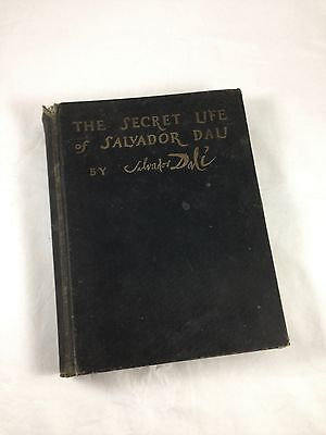 THE SECRET LIFE OF SALVADOR DALI - Rare 1949 LIMITED EDITION of 1000