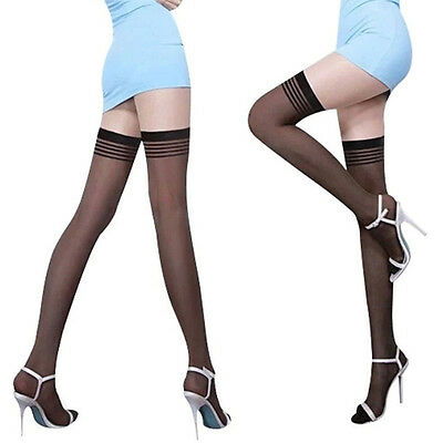 Womens Lace Over Knee Thigh-Highs Long Socks Lace Up Stockings Hosiery Tights