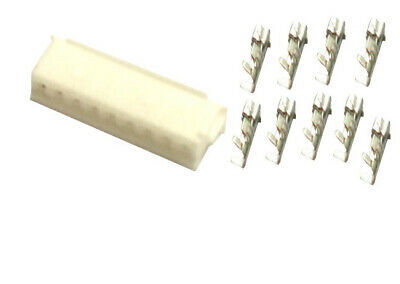 JST ZH 1.5mm Pitch 9-Pin Female Housing Connector Plug + ZH Crimps Terminal x 20