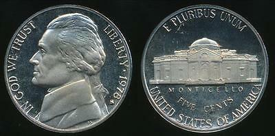 United States, 1978-S 5 Cents, Jefferson Nickel - Proof