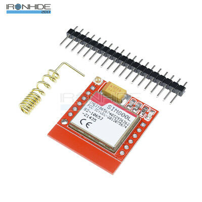 Smallest SIM800L GSM GPRS Módulo Card Board Quad-band Onboard With Antenna