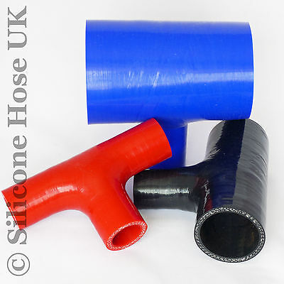 Silicone Tpiece Hose T-Piece Dump Valve - Silicon Rubber Coolant Joiner Pipe Tee