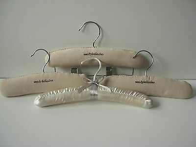 Lot of 4 Baby / Toddler Padded Hangers - Wendy Bellissimo