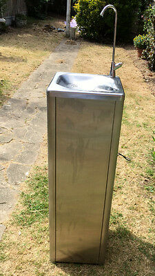 £800 Water Drinking Fountain Stainless Steel Filtered & Refrigerated