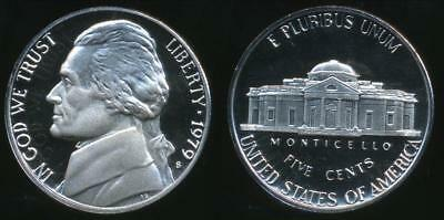 United States, 1979-S 5 Cents, Jefferson Nickel (type 2) - Proof