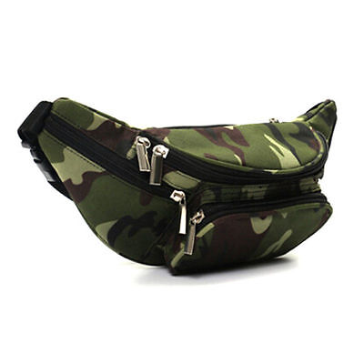 Mens Adjustable Belt Waist Bag Fanny Pack Outdoor Bum Bag Running Zipper Bags