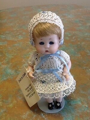 Porcelain doll JUST-ME by Dolls by Linda