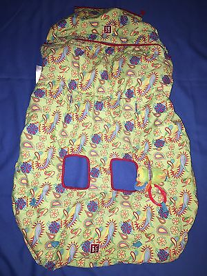 INFANTINO Shopping Cart High Chair Cover Green Blue Large