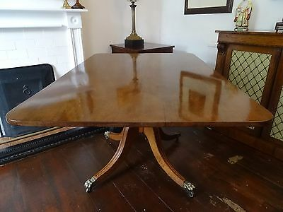 Magnificent Period Antique Regency Mahogany Fold Over Breakfast Dining Table