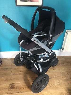 Quinny buzz Extra Pushchair And Maxi Cosy Car Seat