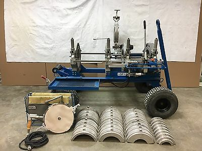 """Connectra 414 Hand Powered Fusion Machine, Christie 4"""" - 14"""" HDPE weld McElroy"""