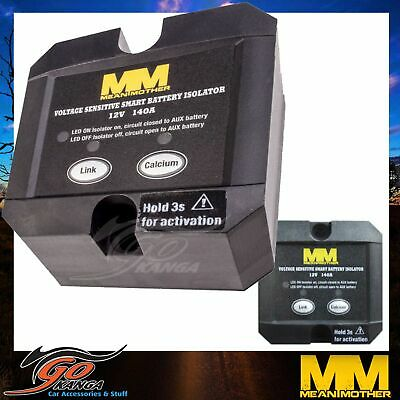 Mean Mother Dual Battery System Voltage Sensitive Smart Isolator Mmdbi