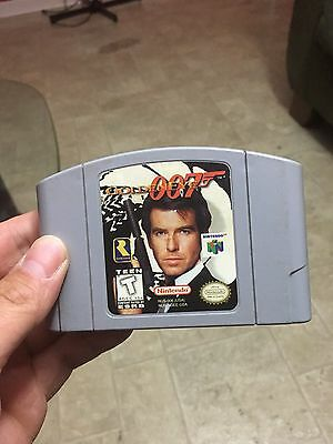 GoldenEye 007 (Nintendo 64 Entertainment System N64 Lot Games