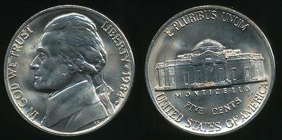 United States, 1984-P 5 Cents, Jefferson Nickel - Uncirculated