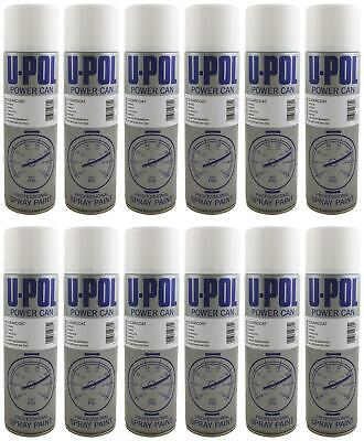 U-pol Power Can CLEARCOAT LACQUER Aerosol 500ml x 12 Upol Powercan Upol Powercan