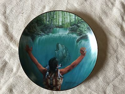 Legend Of The Fall, 1st Invoking The Spirits. Bradford Exchange Plate