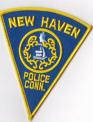 New Haven Police Patch Connecticut CT NEW !!!