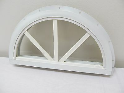"14"" Sunburst Shed Window with J-Channel, Play House Window"