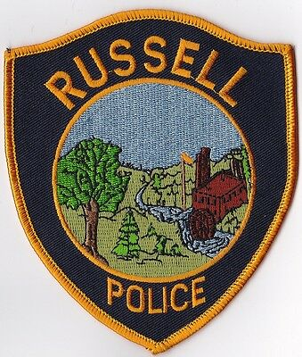 Russell Police Patch MA NEW!!