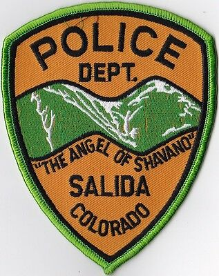 Salida Police Dept.  Police Patch Colorado CO NEW!!