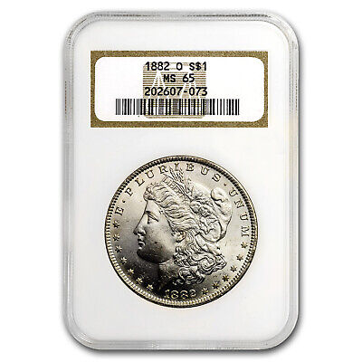 1882-O Morgan Dollar MS-65 NGC