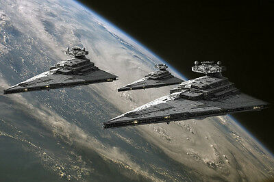 Star Wars Imperial Star Destroyer ART SILK POSTER 24x36