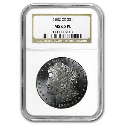 1882-CC Morgan Dollar MS-65 PL NGC