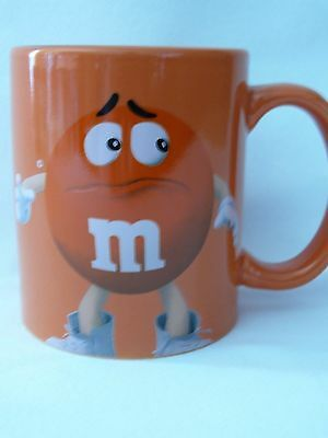 M&M Kaffeebecher - Sammelbecher - Tasse - Becher - orange - NEU