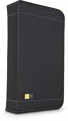 Case Logic CDW 320 Nylon Disc CD Wallet and 16 DVD Fast File Holder Black
