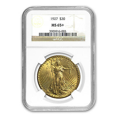 $20 Saint-Gaudens Gold Double Eagle MS-65+ NGC (Random)